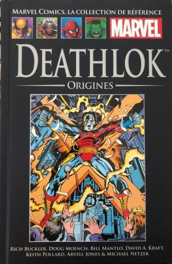 Couverture de l'album Marvel Comics - La Collection de référence (Début de frise) - 29. Deathlock - Origines