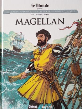 Couverture de l'album Les Grands Personnages de l'Histoire en BD - 33. Magellan
