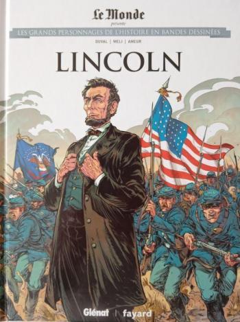 Couverture de l'album Les Grands Personnages de l'Histoire en BD - 34. Lincoln