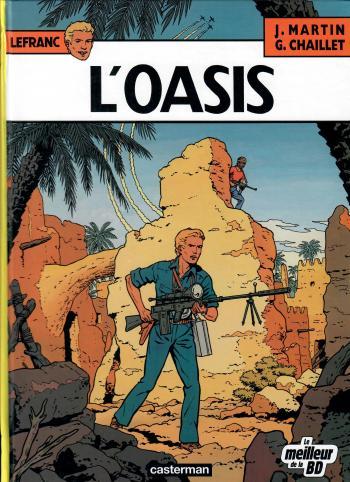 Couverture de l'album Lefranc - 7. L'oasis