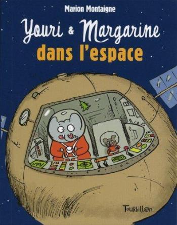 Couverture de l'album Youri et Margarine dans l'espace (One-shot)