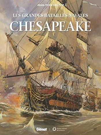 Couverture de l'album Les Grandes Batailles navales - 1. Chesapeake