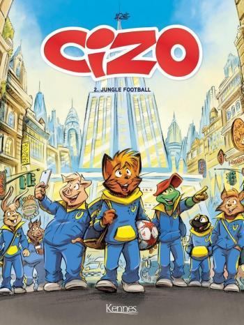 Couverture de l'album Cizo - 2. Jungle Football