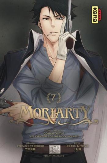 Couverture de l'album Moriarty - 7. Tome 7