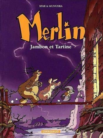 Couverture de l'album Merlin (Joann Sfar) - 1. Jambon et Tartine
