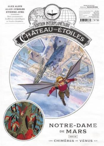 Couverture de l'album Le Château des étoiles (Gazette) - 16. Notre-Dame de Mars