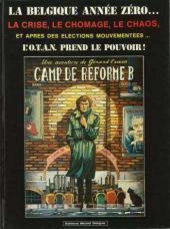 Couverture de l'album Une aventure de Gérard Craan - 1. Camp de réforme B