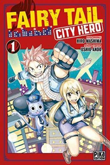 Couverture de l'album Fairy Tail - City Hero - 1. Tome 1