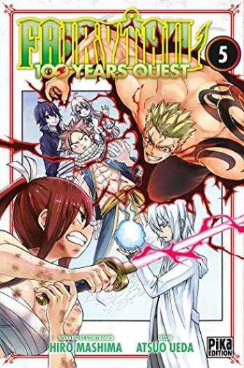 Couverture de l'album Fairy Tail - 100 Years Quest - 5. Tome 5
