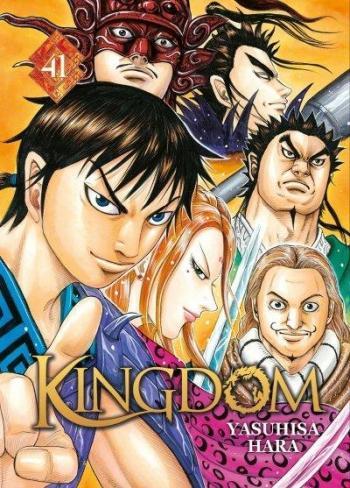 Couverture de l'album Kingdom - 41. Un grand pas vers la conquête de la chine.