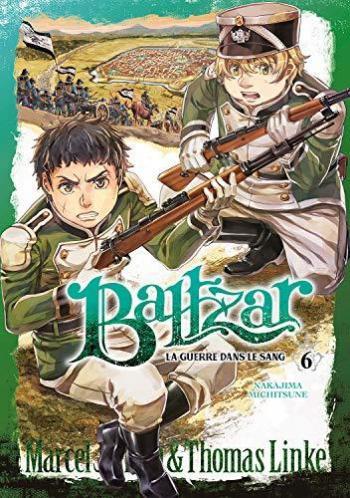 Couverture de l'album Baltzar, la guerre dans le sang - 6. Marcel & Thomas Linke