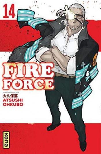 Couverture de l'album Fire Force - 14. Tome 14