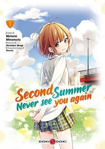 Couverture de l'album Second summer, Never see you again - 1. tome 1