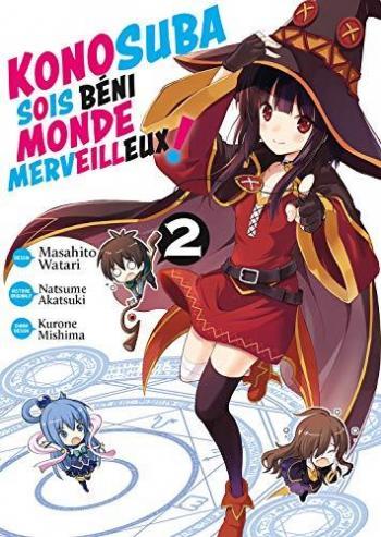 Couverture de l'album Konosuba - Sois Béni Monde Merveilleux ! - 2. Tome 2