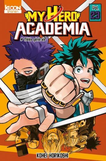 Couverture de l'album My Hero Academia - 23. Mêlée générale