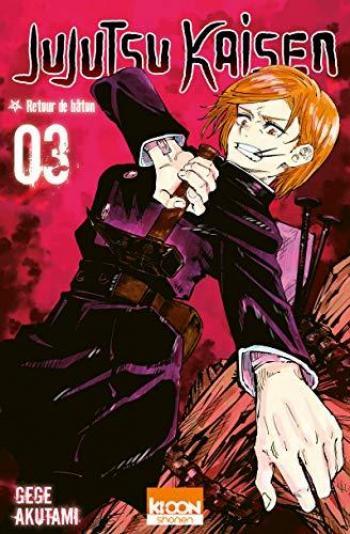 Couverture de l'album Jujutsu Kaisen - 3. Retour de bâton