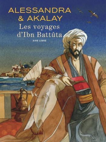 Couverture de l'album Les voyages d'Ibn Battûta (One-shot)