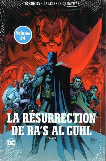 Couverture de l'album DC Comics - La légende de Batman - 44. La résurrection de ra's al guhl