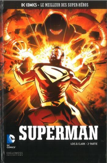 Couverture de l'album DC Comics - Le Meilleur des super-héros - 116. Superman - Lois & Clark 2ème partie