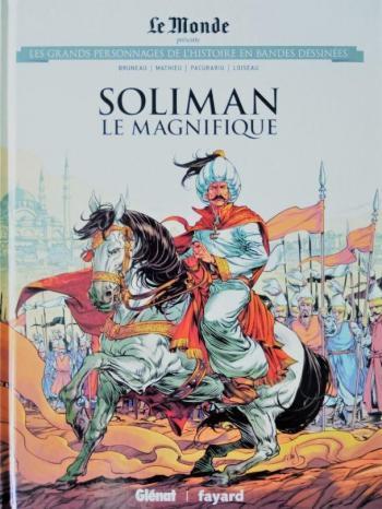Couverture de l'album Les Grands Personnages de l'Histoire en BD - 35. Soliman Le Magnifique