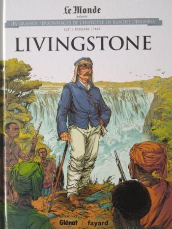 Couverture de l'album Les Grands Personnages de l'Histoire en BD - 36. Livingstone