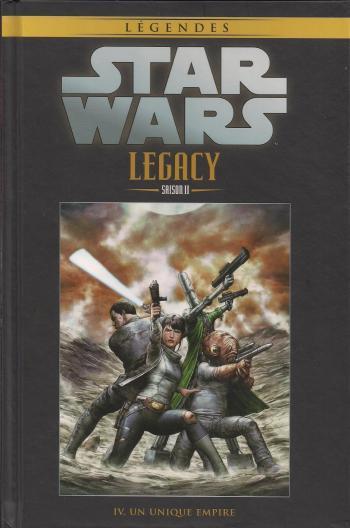 Couverture de l'album Star Wars (Collection Hachette) - 98. Legacy Saison II - IV Un unique Empire