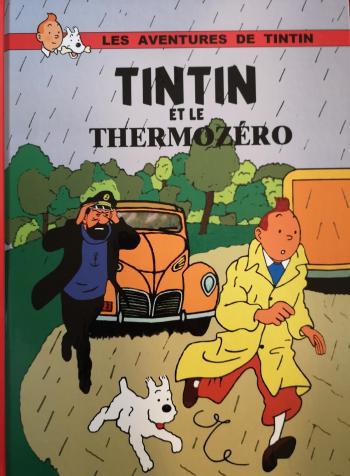 Couverture de l'album Tintin (Pastiches, parodies et pirates) - HS. Tintin et le Thermozéro