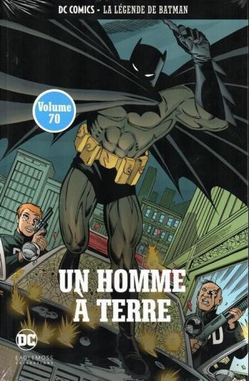 Couverture de l'album DC Comics - La légende de Batman - 37. Un homme à terre