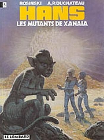 Couverture de l'album Hans - 3. Les mutants de Xanaïa