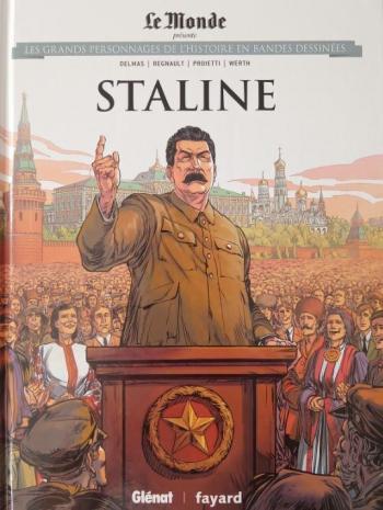 Couverture de l'album Les Grands Personnages de l'Histoire en BD - 37. Staline