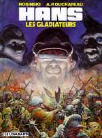 Couverture de l'album Hans - 4. Les gladiateurs