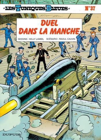 Couverture de l'album Les Tuniques bleues - 37. Duel dans la Manche