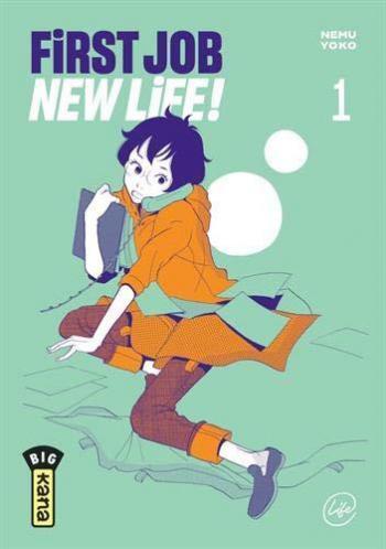 Couverture de l'album First Job New Life ! - 1. Tome 1
