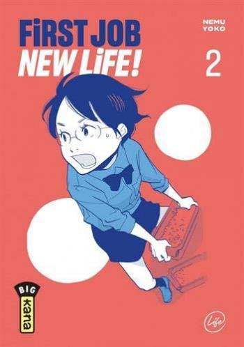 Couverture de l'album First Job New Life ! - 2. Tome 2