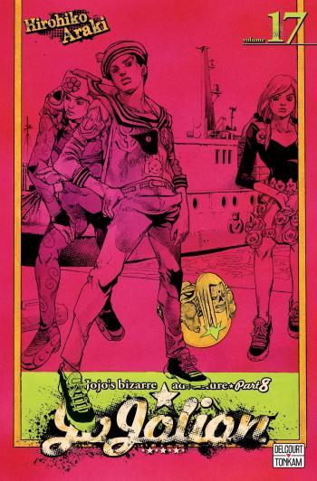 Couverture de l'album Jojo's Bizarre Adventure - Saison 8 - Jojolion - 17. Évade-toi du Mont Hanarero