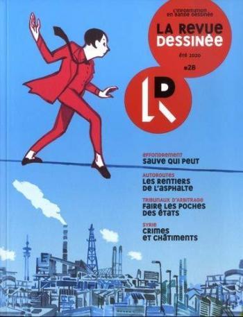 Couverture de l'album La Revue dessinée - 28. Eté 2020