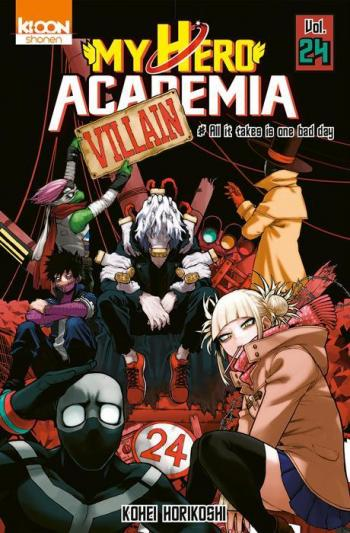 Couverture de l'album My Hero Academia - 24. All it takes is one bad day