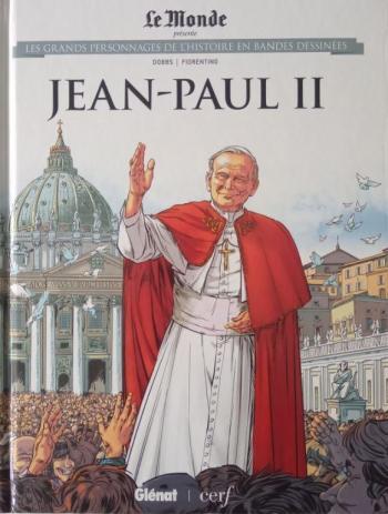 Couverture de l'album Les Grands Personnages de l'Histoire en BD - 38. Jean-Paul II