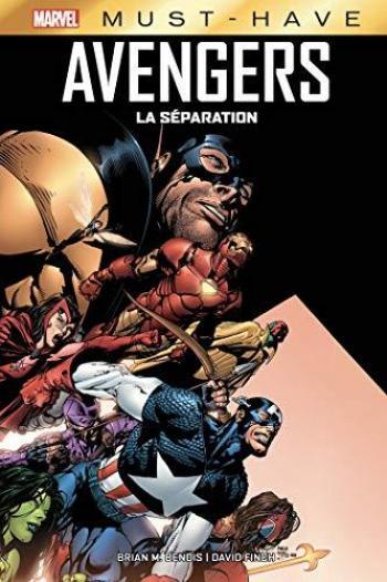 Couverture de l'album Avengers - La séparation - HS. La séparation