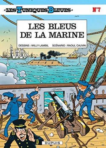 Couverture de l'album Les Tuniques bleues - 7. Les Bleus de la marine