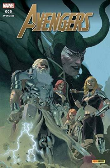 Couverture de l'album Avengers (V7, Fascicules) - 5. Le crépuscule du dieu du tonnerre