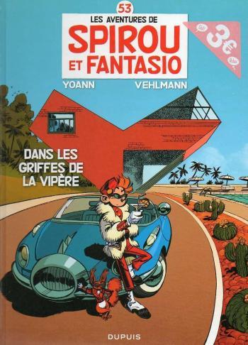 Couverture de l'album Spirou et Fantasio - 53. Dans les griffes de la Vipère