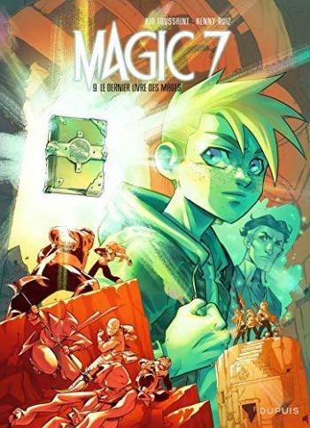 Couverture de l'album Magic 7 - 9. Le dernier livre des mages