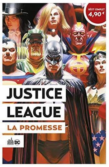 Couverture de l'album Le Meilleur de DC Comics - 6. Justice League - La promesse