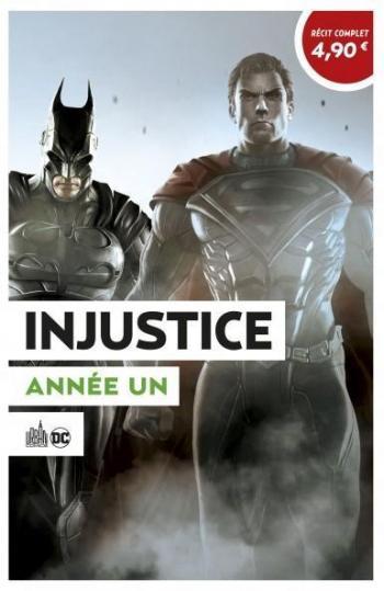 Couverture de l'album Le Meilleur de DC Comics - 10. Injustice - Année un