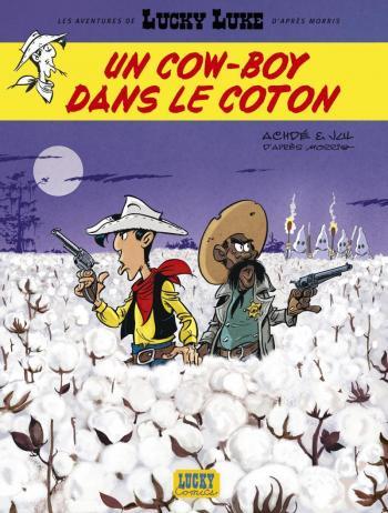 Couverture de l'album Les Aventures de Lucky Luke d'après Morris - 9. Un Cow-Boy dans le Coton
