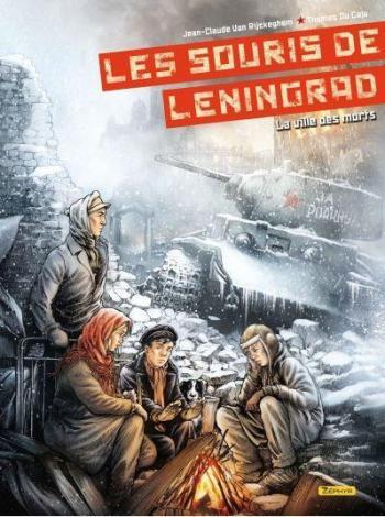 Couverture de l'album Les Souris de Leningrad - 2. La ville des morts