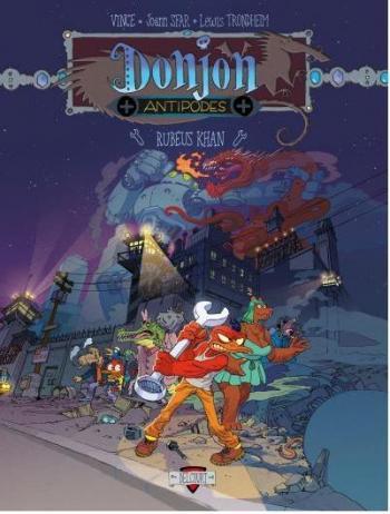 Couverture de l'album Donjon Antipodes - 10000. Rubéus Khan
