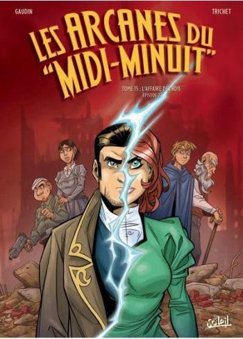 Couverture de l'album Les Arcanes du Midi-Minuit - 15. L'Affaire des rois Partie 2/2