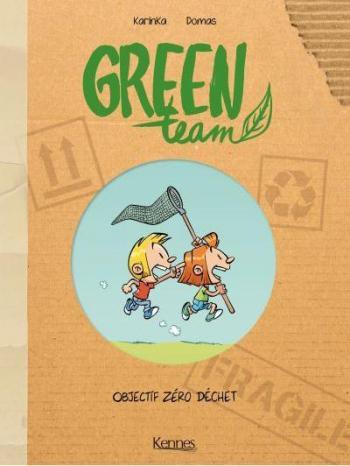 Couverture de l'album Green Team - 1. Objectif zéro déchet